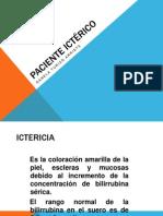 paciente icterico