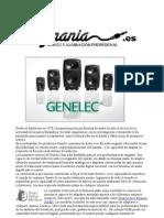 Altavoces estudio Genelec