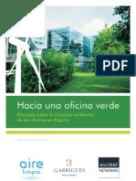Encuesta sobre la situación ambiental de las oficinas en España