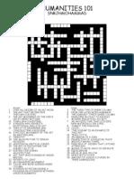 07194155.91crossword test for humanities