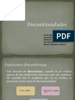Diapositivas Discontinuidades