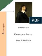 René Descartes - Lettres à Elisabeth