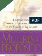 Cindy Jacobs - Mujeres De Propósito