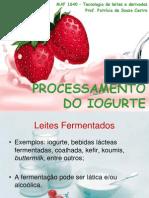 Aula 10_Processamento de Iogurte