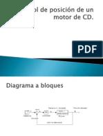 Control de posición de un motor de CD