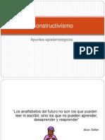 Constructivismo- epistemología