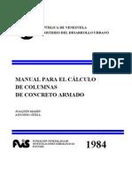 1984 Manual Para El Calculo de Columnas de Concreto Armado