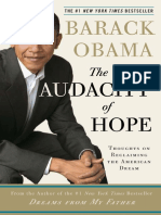 The Audacity of Hope, by Barack Obama - Excerpt