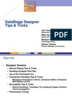 DataStage Tricks Tips