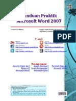 Buku Panduan Praktik Microsoft Word 2007 - Revisi