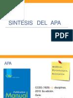 Síntesis del APA
