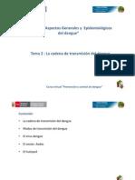 Cap i Tema 2 La Cadena de Transmision Del Dengue