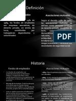 Fondos de Empleados y Asociaciones Mutuales