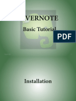 Evernote Basic Tutorial