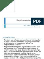 Requirement Analysis- Weeoaak 2