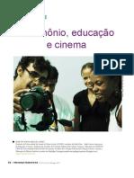 Patrimonio educação cinema