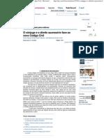 O cônjuge e o direito sucessório face ao novo Código Civil - Revista Jus Navigandi - Doutrina e Peças