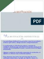 Motivacion Psicologia