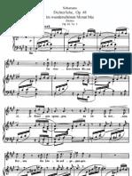 Schumann - Dichterliebe Op.48