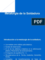 Introducción a la Metalurgia de la Soldadura