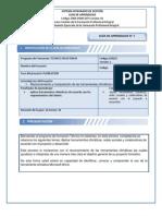 Formato GUÍA DE APRENDIZAJE OFIMATICA word