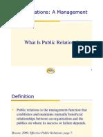 APRSG PR Mgmt Function