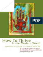 How to Thrive in the Modern World. a Layperson's Guide to Chinese Medicine