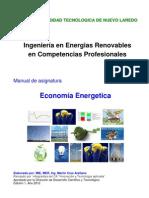 Manual de Asignatura de Economia Energetica