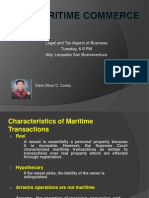 Maritime Commerce Revised
