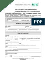 FCE Unidades Habitacionais Populares Em Loteamentos Consolidados Com Sistema Coletivo de Tratamento de Esgoto Sanitario