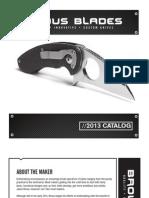 Brous Blades Catalog 2013