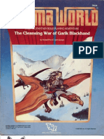 the Cleansing War of Garik Blackhand 1983