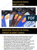 Banking Frauds in India