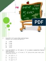 Math SPM Set 2