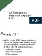 LTE n Future Trends