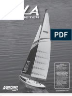 Vela One Meter RC Sailboat Manual