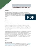 El Cuerpo de la Resurrección de Jesús