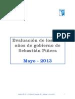 Balance de Gobierno de Derecha 19.05.13