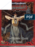 TSR 9477 Van Richten's Guide to Fiends