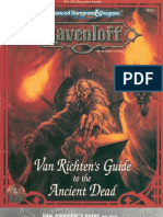 TSR 9451 Van Richten's Guide to the Ancient Dead