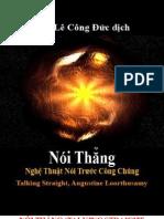 Noi Thang Nghe Thuat Noi Truoc Cong Chung