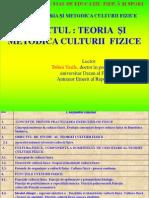 Teoria Si Metodica Culturii Fizice(Lectia1)