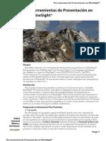 Herramientas de Presentación en MineSight®