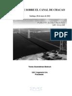 Estudio Puente Canal Chacao Previo