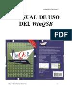 3.7. Uso de Software Winqsb