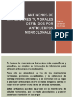 Antigenos de Marcadores Tumorales Definidos Por Anticuerpos Monoclonales