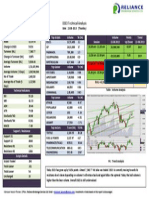 Sample Daily Market Commentary and Technical Analysis of Dhaka Stock Exchange