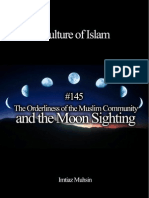 145 The Orderliness of the Muslim Community and the Moon Sighting