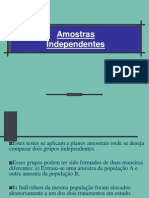 Duas amostras independentes.ppt
