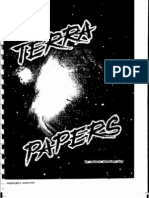 The Terra Papers by Robert Morning Sky